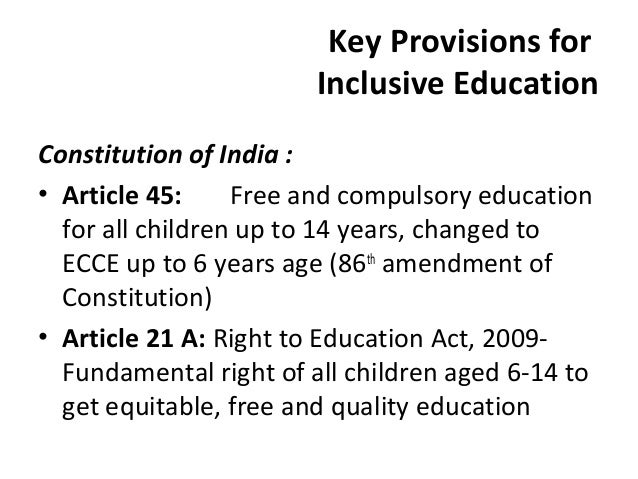 related articles for inclusive education Literature review of the principles and practices relating to inclusive education for children with special educational needs prepared by dr eileen winter and mr.