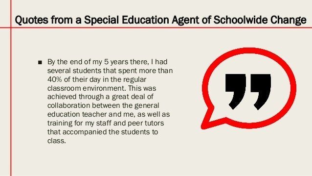 Eight Paths to Special Education Teacher Leadership