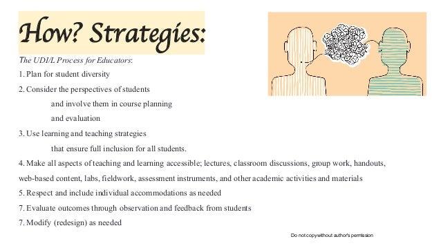Inclusive Education Strategies