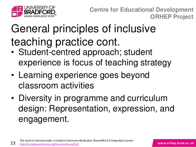 Innovative Classroom Practices In The Light Of Constructivism In ~ Inclusive teaching