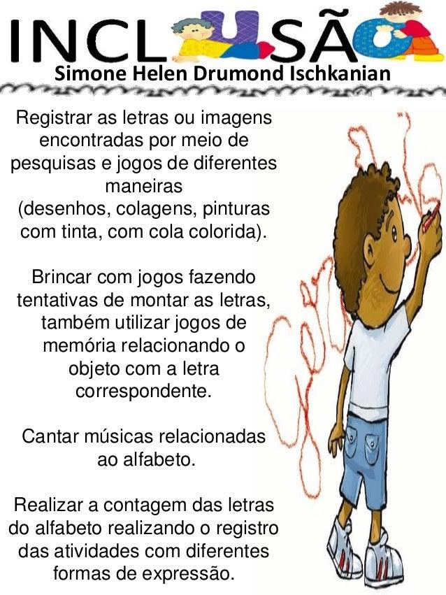 Well-known Inclusão alfabeto 87 páginas de atividades CO13