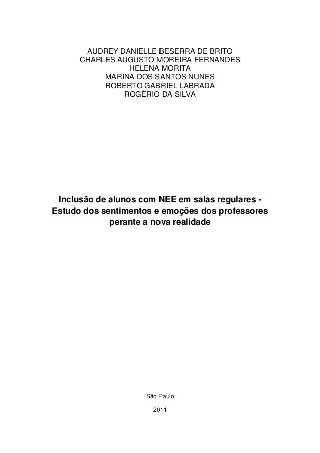 AUDREY DANIELLE BESERRA DE BRITO CHARLES AUGUSTO MOREIRA FERNANDES HELENA MORITA MARINA DOS SANTOS NUNES ROBERTO GABRIEL L...