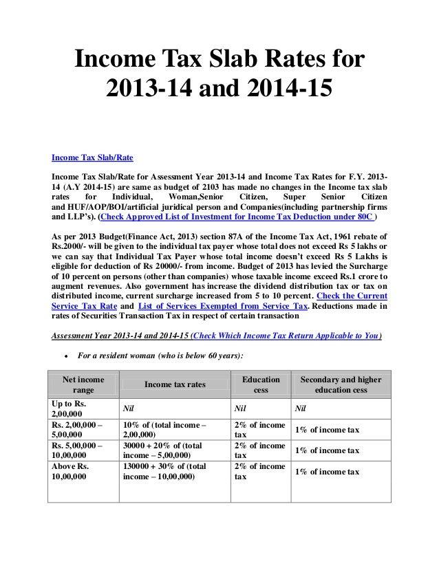 SLAB RATES FOR AY 13 14 PDF DOWNLOAD