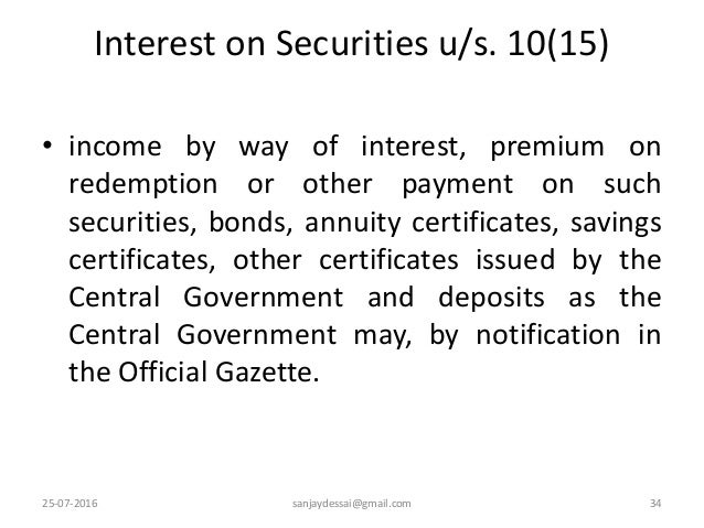 exempt income under section 10 pdf