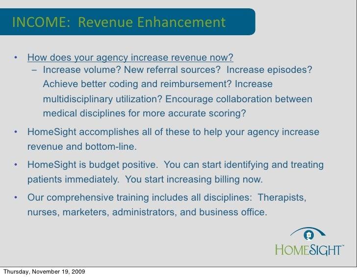 Incomes Outcomes How Come 9 09 Slide 2