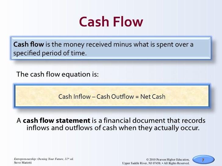 Income statements & cash flow