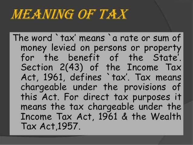 taxation | Definition, Principles, Importance, & Types ...