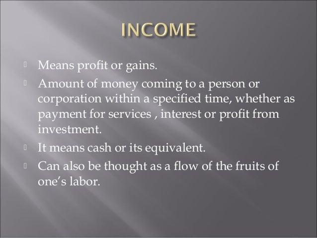 Income taxation Slide 2
