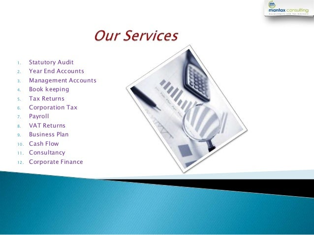 Income Tax Consulting Services In London