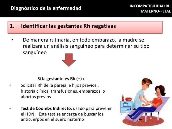 INCOMPATIBILIDAD RHDiagnóstico de la enfermedad                                MATERNO-FETAL1.      Identificar las gestan...