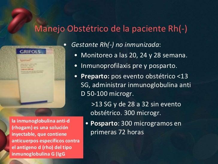 Gestante Rh(-) inmunizada por anti D.Amniocentesis:      • Objetivos: a partir de 16 a                      Diagnostico ...