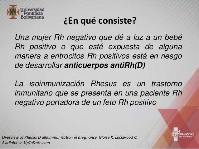 Incompatibilidad Rh Slide 3