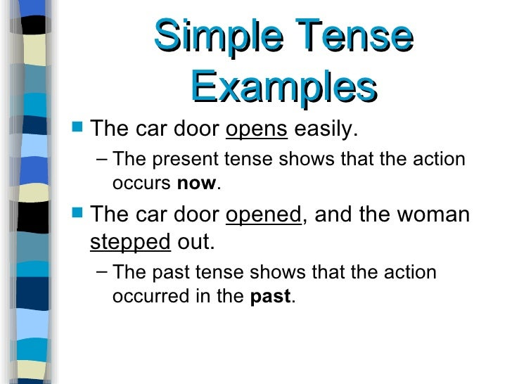 when editing your essay for verb tense it is important to