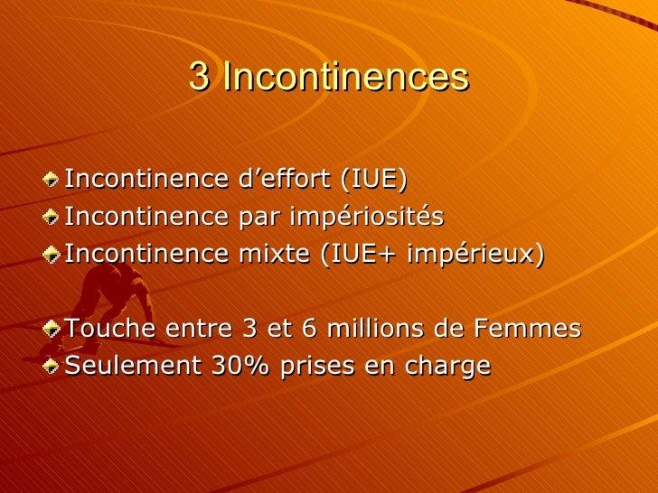incontinence urinaire feminine em 09 06 09. Black Bedroom Furniture Sets. Home Design Ideas
