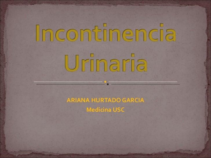 ARIANA HURTADO GARCIA Medicina USC