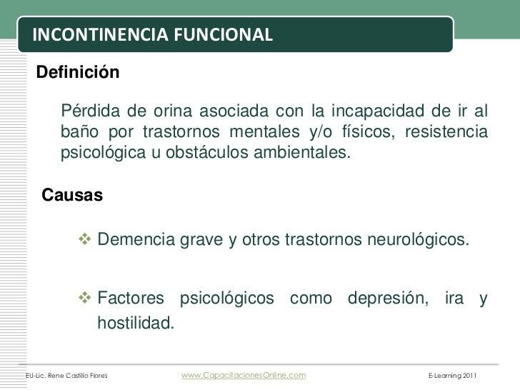 Incontinencia urinaria en adulto mayor ren castillo 2007 - Medicamento para ir al bano ...