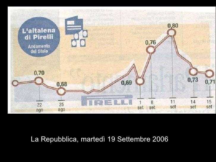 La Repubblica, martedì 19 Settembre 2006