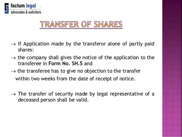 incorp  issue  u0026 transfer of shares final