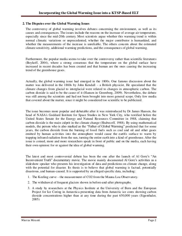 statement problem of global warming Global warming and climate change issues are perhaps the greatest threat to this planet this section from globalissuesorg looks into various aspects of this, such as the various.