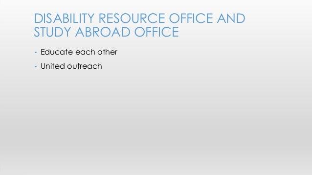 Study abroad outreach transportation