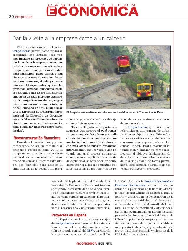 Incosa en Castilla y León Económica Slide 3