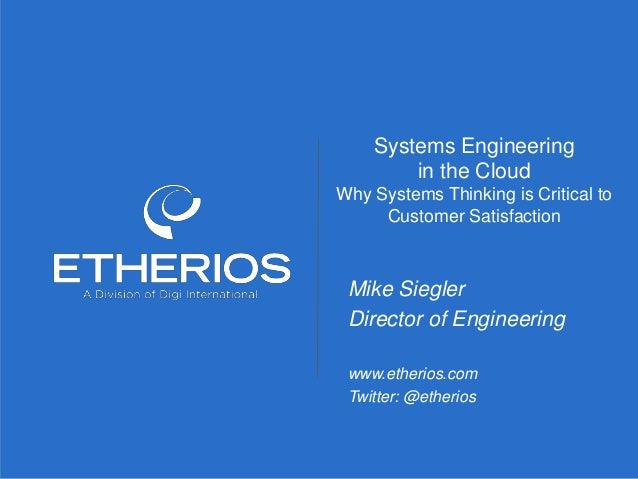 © Copyright 2014 Etherios, A Division of Digi International. All rights reserved. Customer confidential. Do not distribute...
