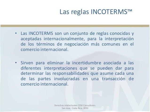 Incoterms 2010 De Cem Consultores