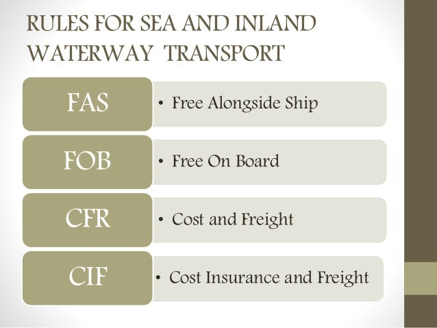 cisg and incoterms Incoterms® and article 31 cisg v place of performance as place of  jurisdiction article 32 cisg i overview ii article 32(1) cisg iii article 32(2) cisg.