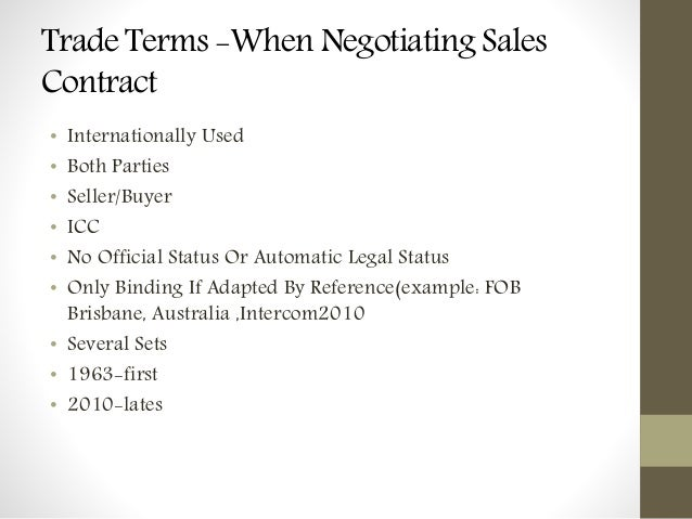 contract law free on board fob The nature of free on board(fob)contract in international trade law has been modified overtime to ensure that the contract of sale between the seller and.