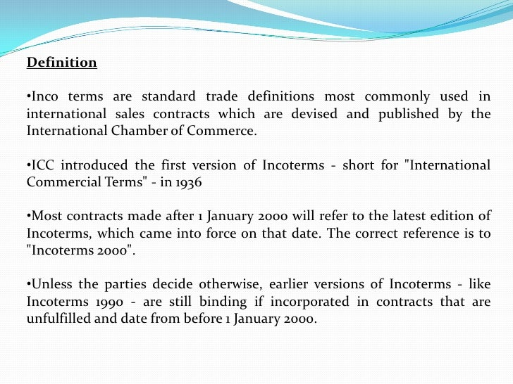 Incoterms meaning image mag for Dining room meaning in hindi