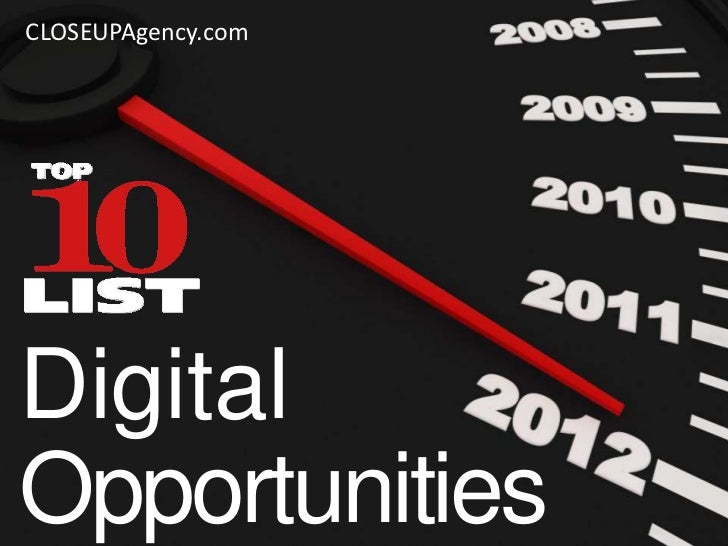 CLOSEUPAgency.comDigitalOpportunities