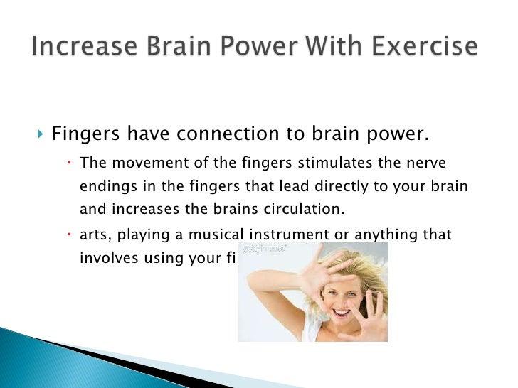 Mental exercises to increase brain power