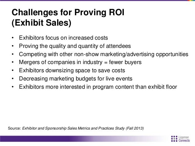Challenges for Proving ROI (Sponsorship Sales) • Need data on audience behavior/likeliness to buy • Demonstrate value of p...