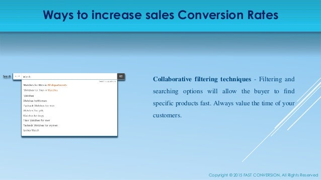 Increase Sales Conversion Rate of your eCommerce Store - photo#20