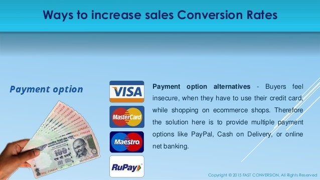 Increase Sales Conversion Rate of your eCommerce Store - photo#12