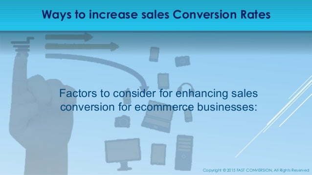 Increase Sales Conversion Rate of your eCommerce Store - photo#23