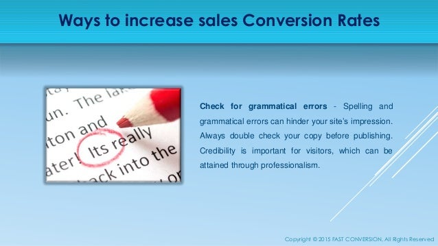 Increase Sales Conversion Rate of your eCommerce Store - photo#18