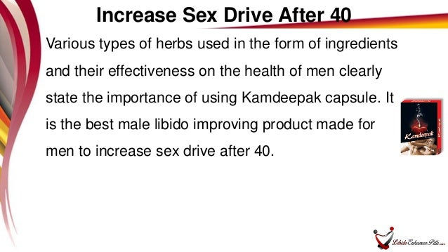 Male sex drive at 40