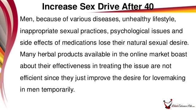 How to increase sexual desire in men
