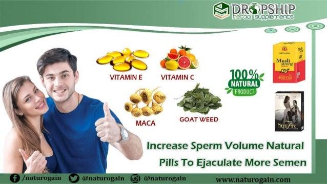 Ejaculation increase sperm