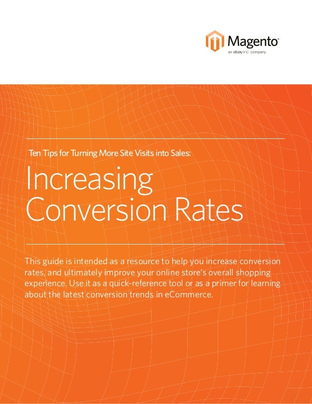 How to Increase eCommerce conversion rates using Magento - photo#17