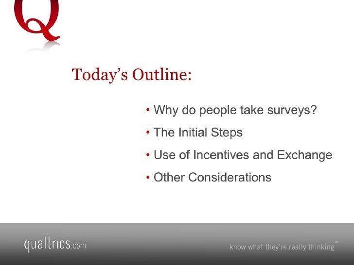 Survey Software--Increasing Survey Response Rates Slide 2