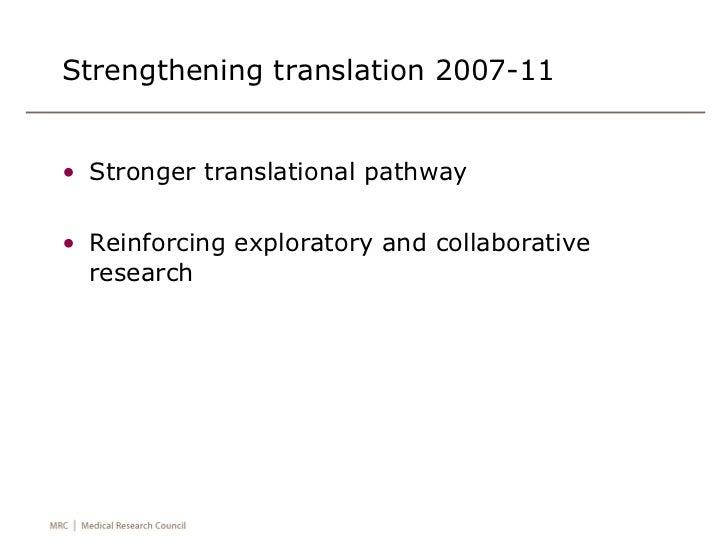 Declan Mulkeen - Increasing the impact of MRC research