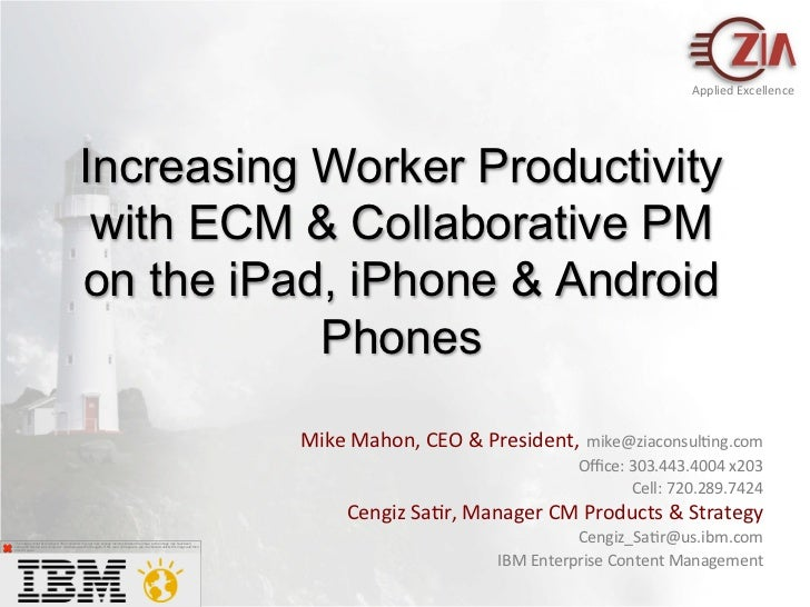 Increasing worker productivity_with_ecm_and_collaborative_project_management