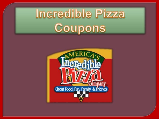 photograph relating to John Incredible Pizza Printable Coupons known as Unbelievable pizza coupon codes