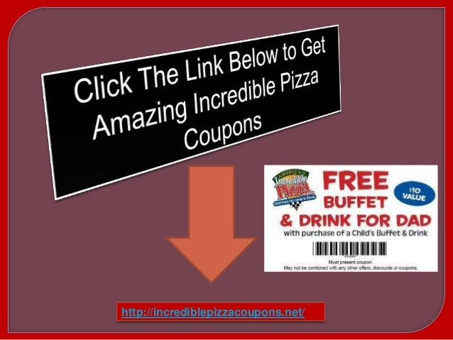 photograph relating to Incredible Pizza Printable Coupons called Amazing pizza discount coupons