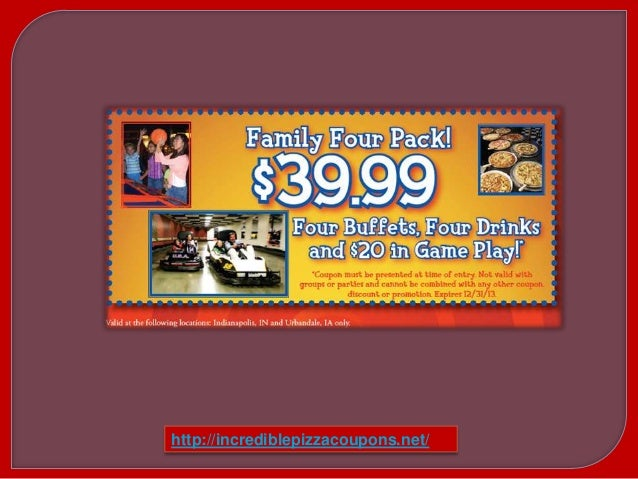 image relating to John Incredible Pizza Coupons Printable identify Coupon codes for john remarkable pizza co / Ideal rent promotions
