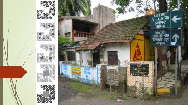 INCREMENTAL HOUSING,  CBD BELAPUR  A CASE STUDY OF LOW COST HOUSING TYPOLOGY  DESIGNED BY AR. CHARLES CORREA