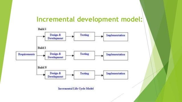 Incremental Model Presentation