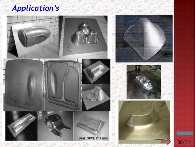 Incremental Sheet Metal Forming Incremental Single Point